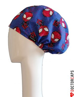 gorro-quirofano-spiderman